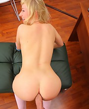 Anal fun with a blonde