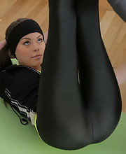 Workout turns into rough sex